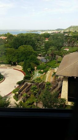 Horseshoe Bay Resort: view of grounds from the room