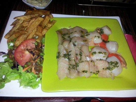 L'Annexe : Pierrade mix poisson st Jacques