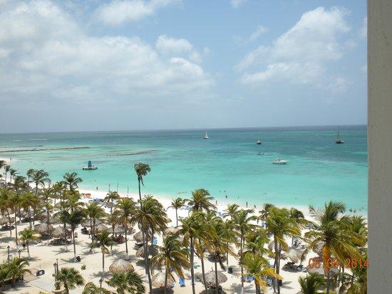 Hotel Riu Palace Aruba: Vista desde la Habitación