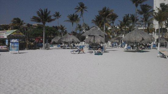 Hotel Riu Palace Aruba: La Playa