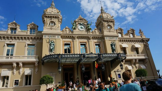 Casino of Monte-Carlo : Beautiful casino