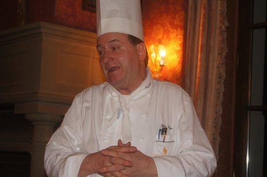 Gildo's: Peter Wyss, Küchenchef
