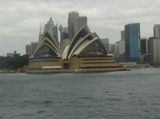 Opera Australia: Visione dal ferrie dell'opera House di Sydney