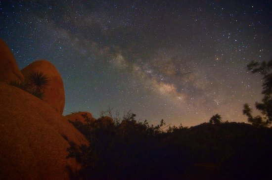 Jumbo Rocks Campground: beautiful star gazing