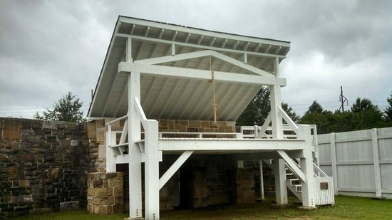 Fort Smith National Historic Site: The Hanging Gallows