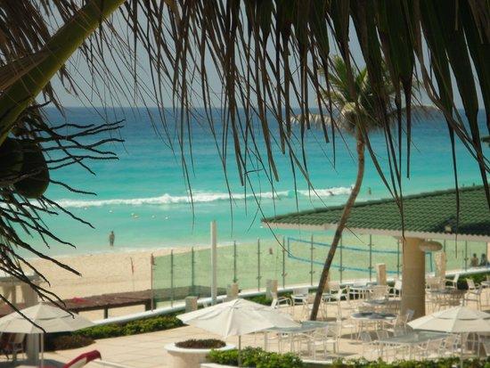 Sandos Cancun Luxury Resort: sacada