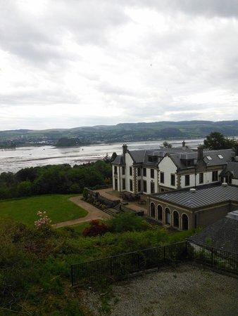 Gleddoch Hotel, Spa & Golf : Nice view on a clear day...probably