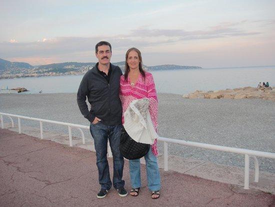 Radisson Blu Hotel, Nice: paseo vespertino