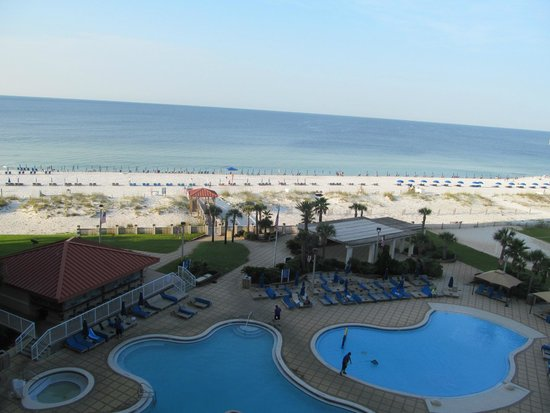 Hilton Pensacola Beach : View from 624