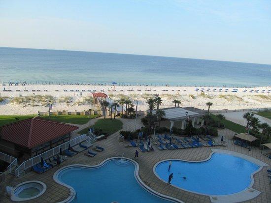 Hilton Pensacola Beach: View from 624