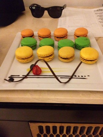 Le Blanc Spa Resort: Jonathan our butler brought us our fav dessert
