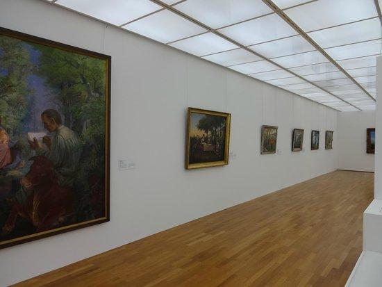 Zeppelin Museum : 絵の展示です
