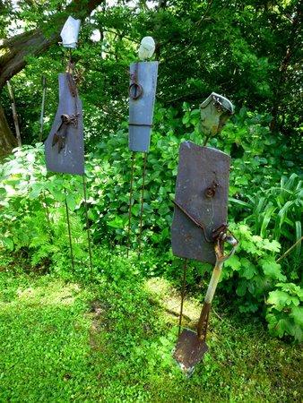 Achill Secret Garden: Art can be found all over this wonderful garden