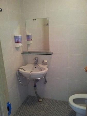 Gom Hostel Dongdaemun: バスルーム
