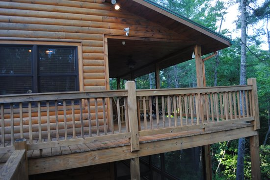 Epworth, GA: Wraparound deck