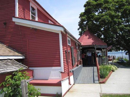 Old Dock House & Marina: outside