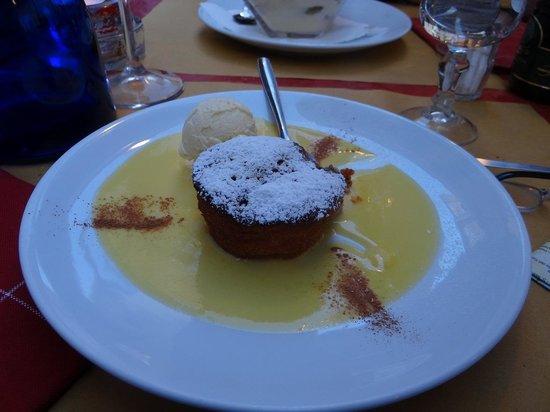 Babbo's : Apple Pie Dessert w/ Ice Cream