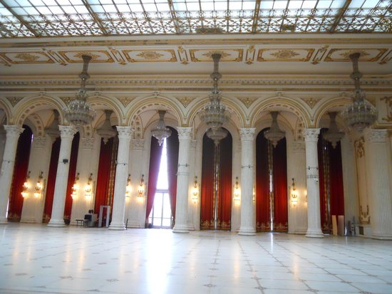 Palace of Parliament: One of Many Great Rooms