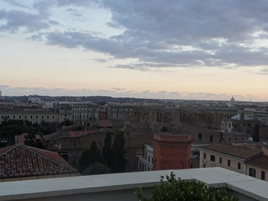 The Independent Hotel: View from Rooftop Restaurant