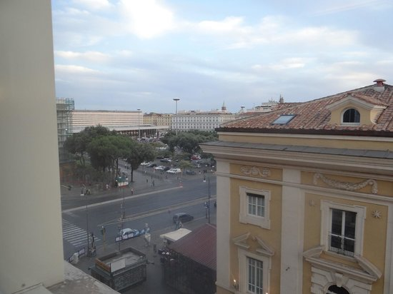 The Independent Hotel: View towards Train Station Room 405
