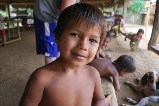 Embera Village Tours & More: And the kids are so friendly