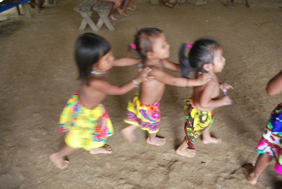 Embera Village Tours & More: Learning the dance