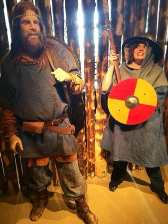 Saga Museum: You can dress up at the end, they even have (really heavy) chain mail!