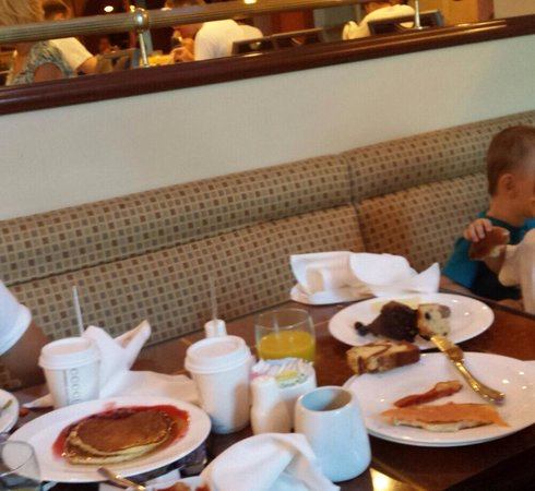 Renaissance Los Angeles Airport Hotel: $30-breakfast .