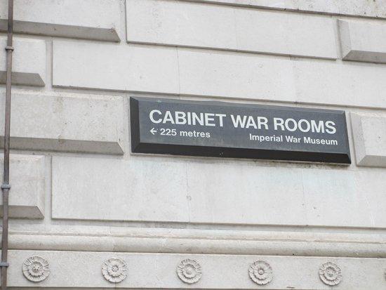 Churchill War Rooms: Cabinet War Rooms