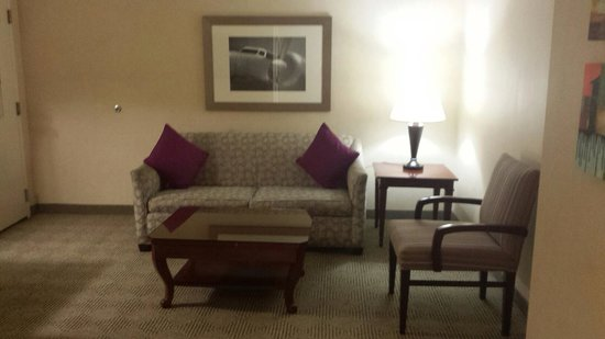 Renaissance Los Angeles Airport Hotel: ....boring decoration....