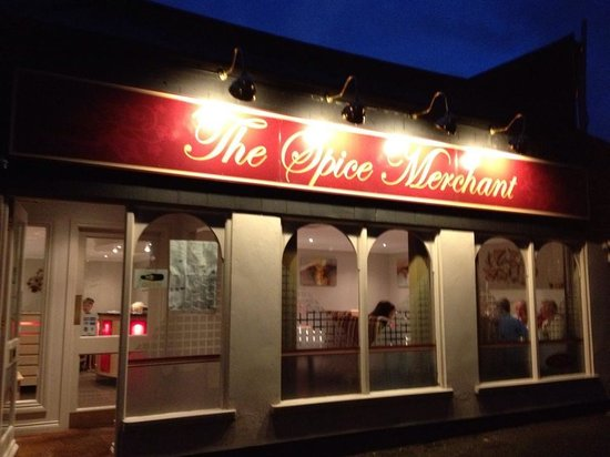 The Spice Merchant: Nice view from outside.