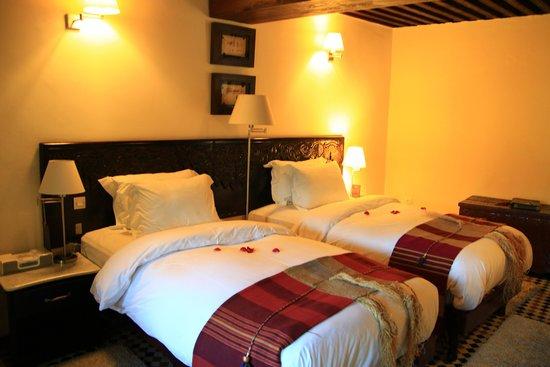 Riad Maison Bleue : 部屋(寝室)