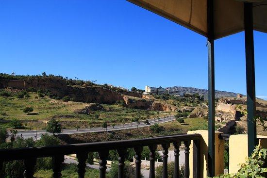Riad Maison Bleue : テラスからの眺望