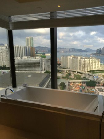 Hotel ICON: bathroom view