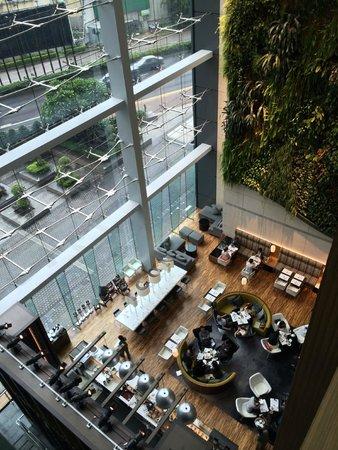 Hotel ICON: hotel lobby