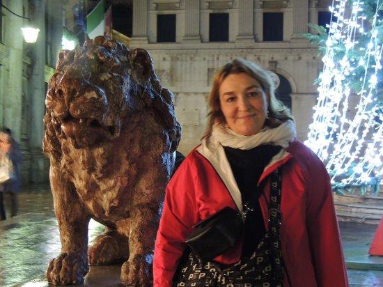 St. Mark's Square: Los leones