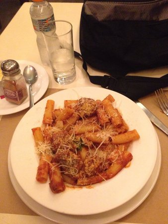 Pasquale : The rigatoni( I think it is) with meat