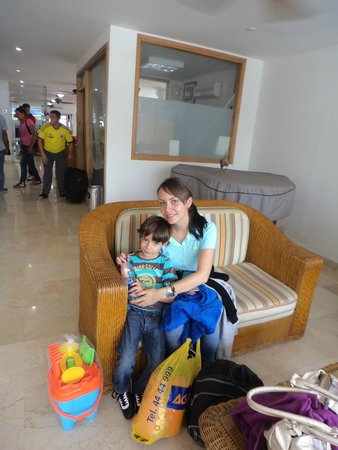 Hotel Playa : en sala de espera