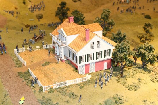 The Old Depot Museum: Diorama