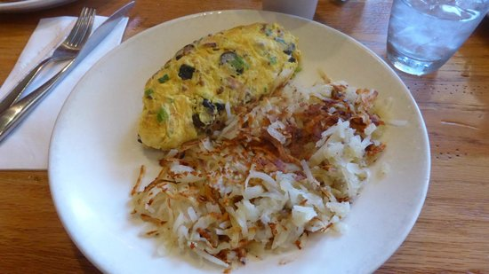 Wildberry Pancakes and Cafe : Napa Valley Fig Omelette