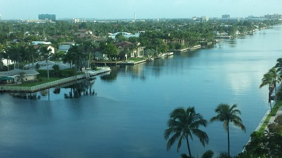 Residence Inn Fort Lauderdale Intracoastal/Il Lugano: View from our suite