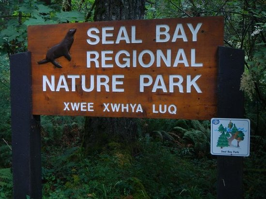 Courtenay, Canadá: Seal Bay Regional Nature Park