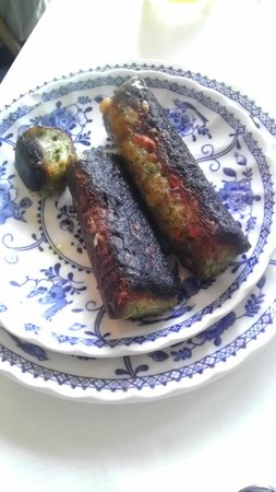 Byways House: burnt sausages