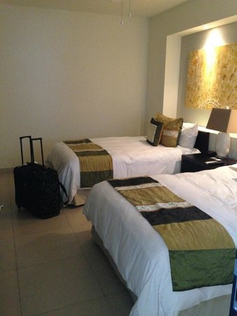 Marival Residences Luxury Resort : kids room with 2 double beds  room 212