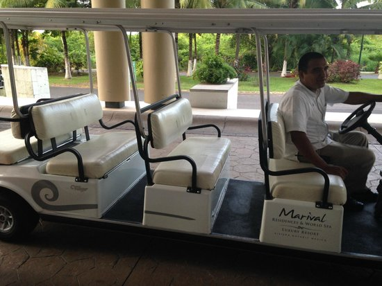 Marival Residences Luxury Resort : shuttle