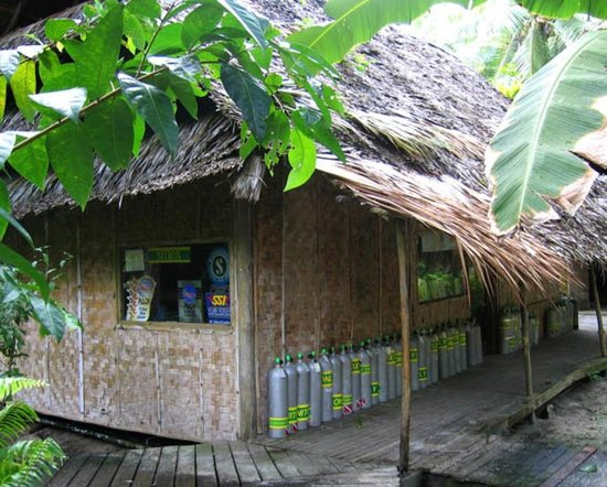 Kosrae Village Ecolodge & Dive Resort: Kosrae Village Dive Shop