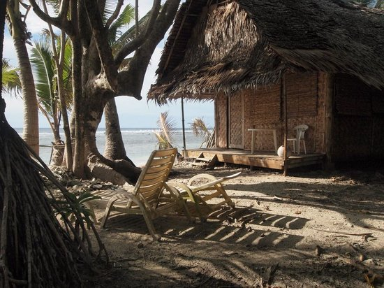 Kosrae Village Ecolodge & Dive Resort: A Cottage that is ALMOST IN the Water