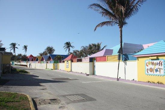 Compass Point Beach Resort: grounds