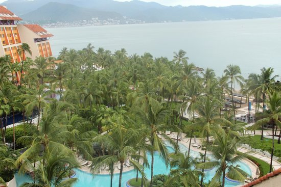 The Westin Resort & Spa Puerto Vallarta: view from our 9th floor room