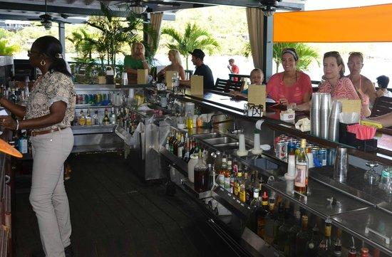 Saba Rock Resort: View